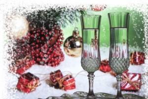 vin bûche Noël